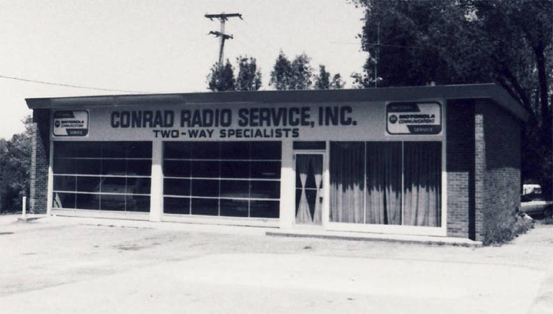 Conrad Radio Old Building